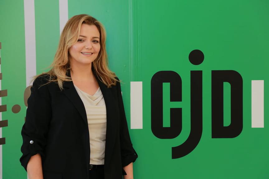 Mouna Chaieb, nouvelle présidente du CJD.